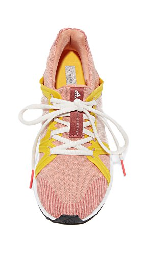 Adidas Av Stella Mccartney Kvinna Ultra Boost Sneakers Aprikos Rose / Pearl Steg / Gul