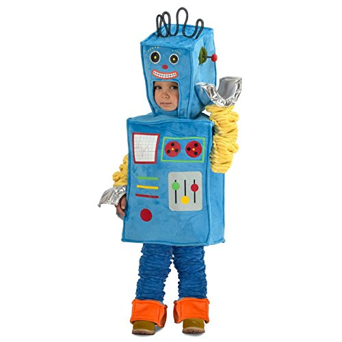 Princess Paradise Racket The Robot Costume, Multicolor, 18 -