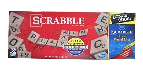Scrabble Game and Scrabble Official Word Book (Official Scrabble)