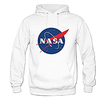 Andrea Sotaski NASA Logo Mens Hoody Sweatshirt: Amazon.ca: Sports & Outdoors