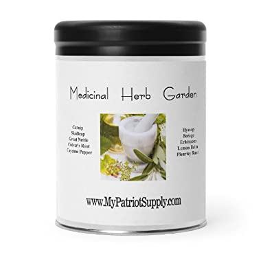 Medicinal Herb Garden – 10 Variety Seed Pack  100% Heirloom, Non-GMO, Easy-to-Grow Herbs Used in Alternative Medicine