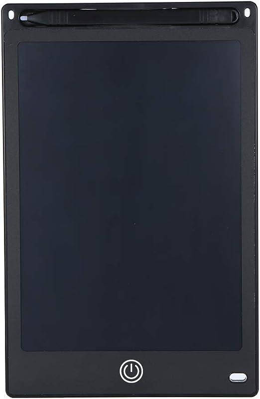 Tickas 8.5インチ液晶デッサンタブレットポータブルデジタルパッドライティングメモ帳電子グラフィックボードメモリマインダスタイラスペン(黒)