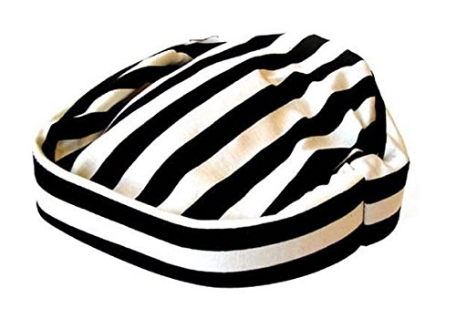 Prisoner Hat Jail Bird Convict Inmate Costume Adult Black (Convict Hat)