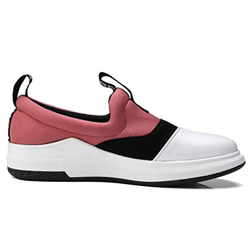 KemeKiss Slip Pink Shoes Flat On Walking Women 7IUrw7