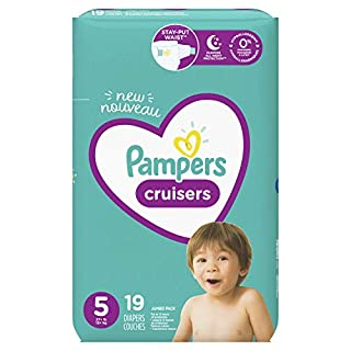 Pampers Cruisers Diapers Size 5 19 Count