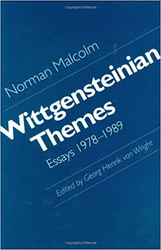 wittgensteinian themes essays norman malcolm george  wittgensteinian themes essays 1978 1989 norman malcolm george henrik von wright 9780801430428 com books