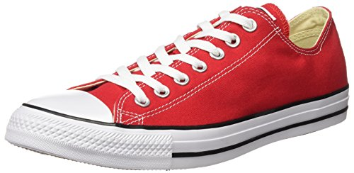 Converse As Hi Can Charcoal 1J793 de Chaussures de Sport Unisexe Rouge dcooQ