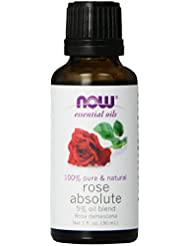 NOW Rose Absolute Oil, 1-Ounce
