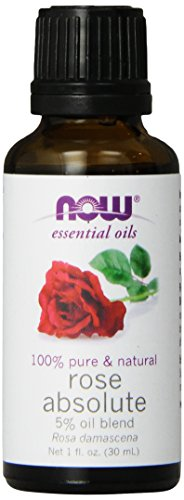 NOW Rose Absolute Oil, 1-Ounce (Rose Essential Oil Pure)