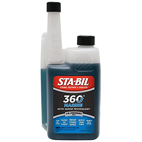 STA-BIL 360 22240 Marine with Vapor Technology, 32 oz. - Corrosion Buster