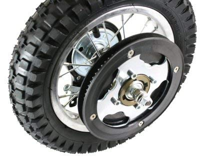 Razor MX350 (V23+) Rear Wheel Assembly - OEM Factory Original 12.5 x 2.75 Complete MX350 (V23+) and MX400 (V19+) Rear Wheel Replacement - Razor MX350 Parts - Part W15128040188 - by Precision Auto by Precision Auto Products (Image #2)