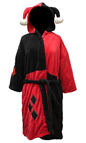 DC Comics Harley Quinn Fleece Robe
