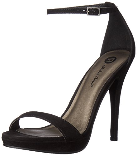 - Michael Antonio Women's Lovina-sue Dress Sandal, Black, 9 M US