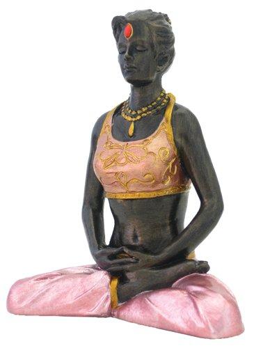 Yoga - Loving Your Enemies Meditation Pose Statue Figurine w