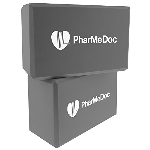PharMeDoc Foam Yoga Blocks Set