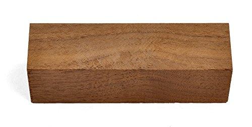 Western Walnut Wood Knife Handle BLOCK (Each Piece is Unique) 5