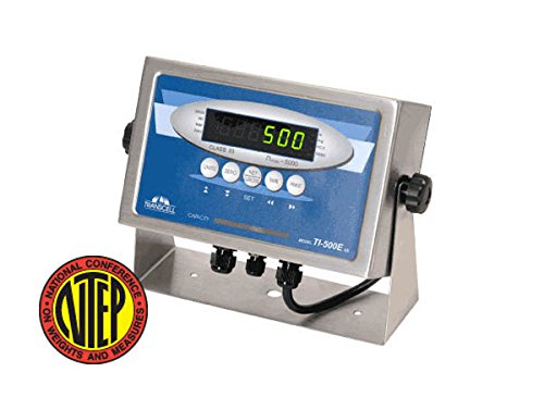 Transcell, TI-500E SS, Digital Weighing Indicator with Stainless Steel Swivel Stand, NTEP ()
