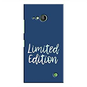 Cover It Up - Limited Edition Blue Lumia 730 Hard Case