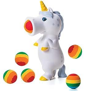 Hog Wild Unicorn Popper White Sunshine Toy