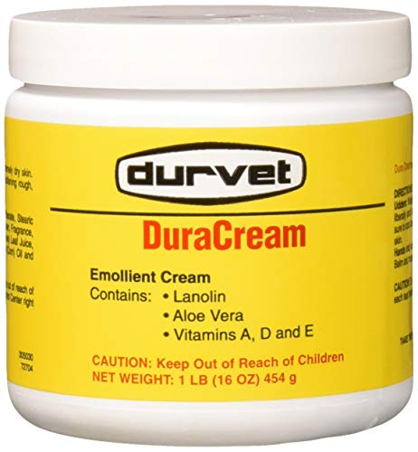 - Durvet Duracream Emollient and Barrier Cream, 1 Pound Container