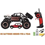 MEGA 2.4Ghz RC Remote Control Rock Crawler MONSTER 4WD Off Truck Car NO BATTERIES NEEDED FOR ONE YEAR