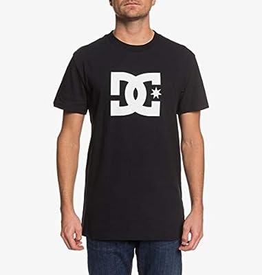 DC Shoes Star - Camiseta para Hombre Camiseta, Hombre, Black/Snow White, M: DC Shoes: Amazon.es: Deportes y aire libre