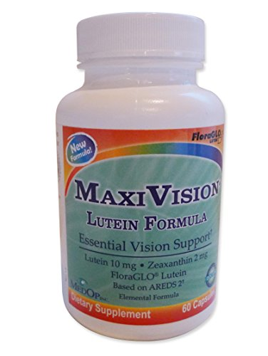 MedOp MaxiVision® Lutein Formula – 60 Capsules Review