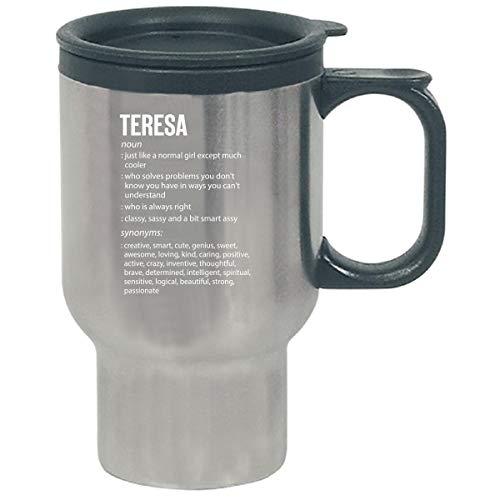 (Teresa Name Meaning Xmas Birthday Gift - Travel Mug)