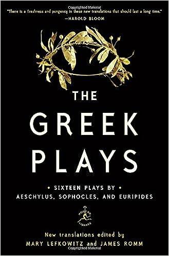 Amazon com: The Greek Plays: Sixteen Plays by Aeschylus