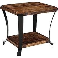 Taddenfeld End Table Rectangular/Medium Brown/Casual