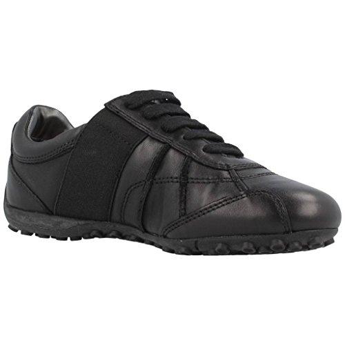 Geox Women's Sports Shoes, Colour Black, Brand, Model Women's Sports Shoes D Snake B Black Taupe
