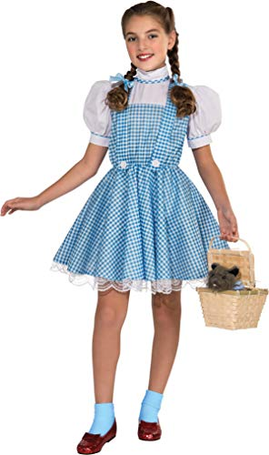 Wizard of Oz Deluxe Dorothy Costume, Large -