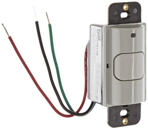 Hubbell AP1277GY1N Adaptive Technology Wall Switch, Passi...