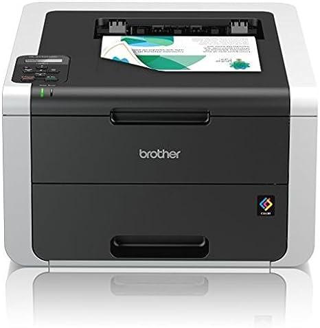 Brother HL3152CDWG1 - Impresora láser multifunción, Color Blanco y ...