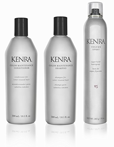 Kenra Color Maintenance Shampoo Conditioner Hairspray Gift Set