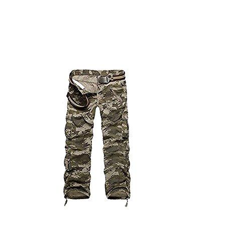 Camo Alpinisme Camouflage Pantalon Ayg Dschungel camouflage Militaire Casual Cargo Homme Sqq0wXt