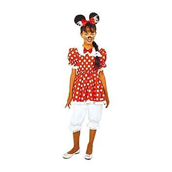 Aptafêtes - cu290239/116 - Disfraz de ratón para niña - Talla 116 ...