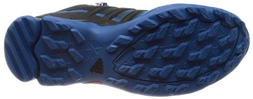 Scarpe Da Passeggio Adidas Terrex Swift R Mid Gore-tex - Aw17 Nero-blu