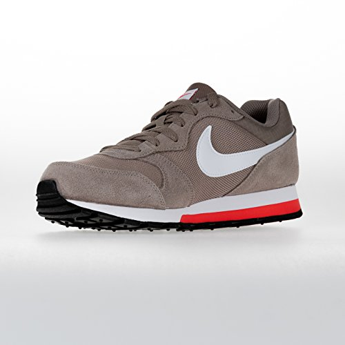 Nike MD Runner 2, Zapatillas para Hombre, Marrón (Sepia Stone/Habanero Red/White 203), 41 EU: Amazon.es: Zapatos y complementos