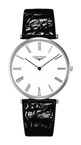 Longines Reloj Análogo clásico para Hombre de Cuarzo con Correa en Cuero L47664112: Amazon.es: Relojes