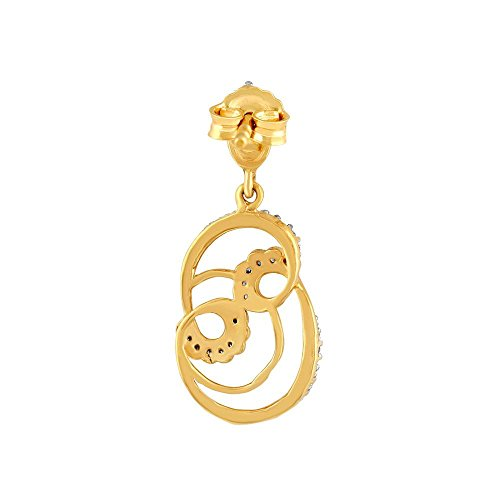 Giantti Diamant pour femme pendantes Boucles d'oreilles (0,45CT, qualité HSI, Gh-colour)