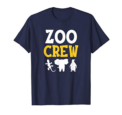 Cool Zoo Crew Shirt for Kids or Adults Zoo T-Shirt