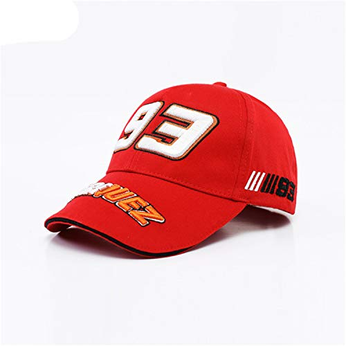(Men Cotton Car Logo M Baseball Cap Hat for BMW M3 M5 3 5 7 X1 X3 X4 X5 X6 330I Z4 Gt 760Li E30 E34 E36 E38 Red )