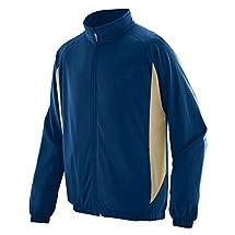 Augusta Sportswear MEN'S MEDALIST JACKET 2XL Navy/Vegas Gold