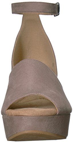 Dara Wedge CL Pebble Taupe Sandal Chinese Laundry Women's by Suede wqIXA6UI
