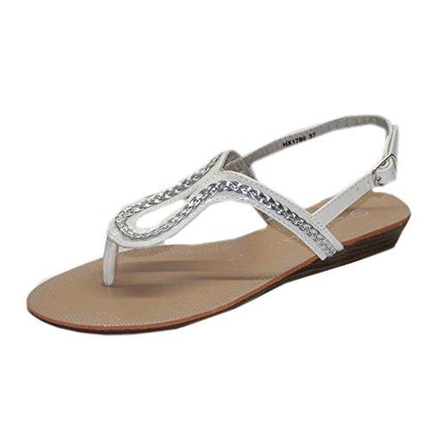 STEKOST - Zapatillas de casa Mujer Geld