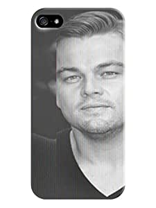 Design Your Cool Leonardo Dicaprio fashionable TPU Phone Protection Cover case to Make Your iphone 5/5s Outstanding