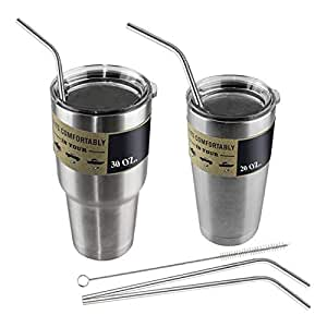 Iulove_kitchen&dining&bar - Pajitas Reutilizables de Acero ...