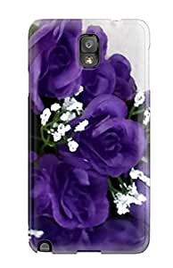 High Quality GjRiMTj1369jLeCi Purple Flowers Tpu Case For Galaxy Note 3