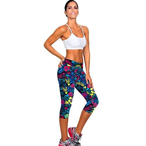 Sannysis Womens Fitness Printed Leggings product image